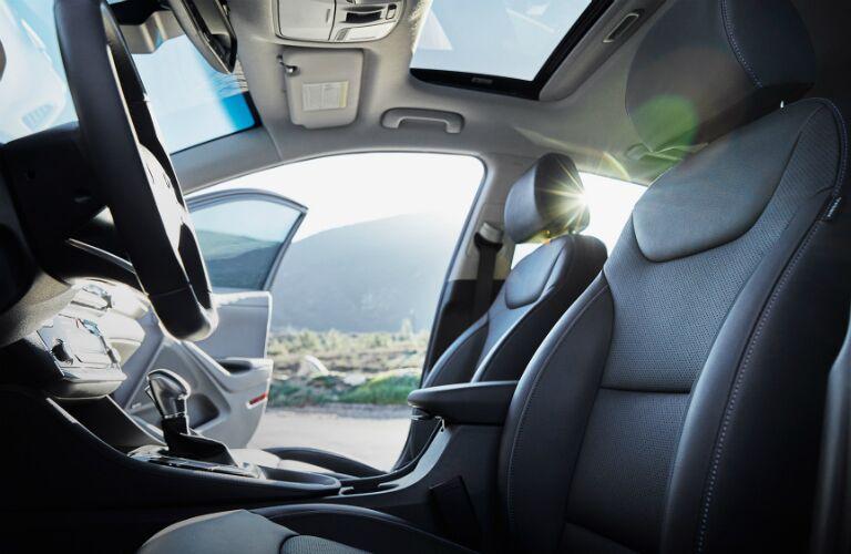 2017 Hyundai Ioniq Hybrid seating materials