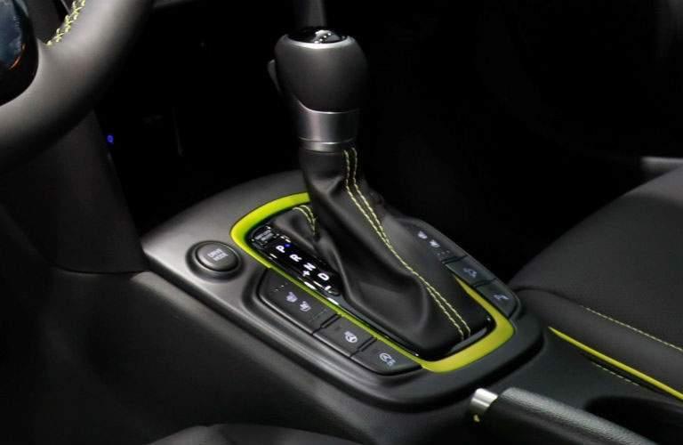 2018 Hyundai Kona automatic transmission shifter