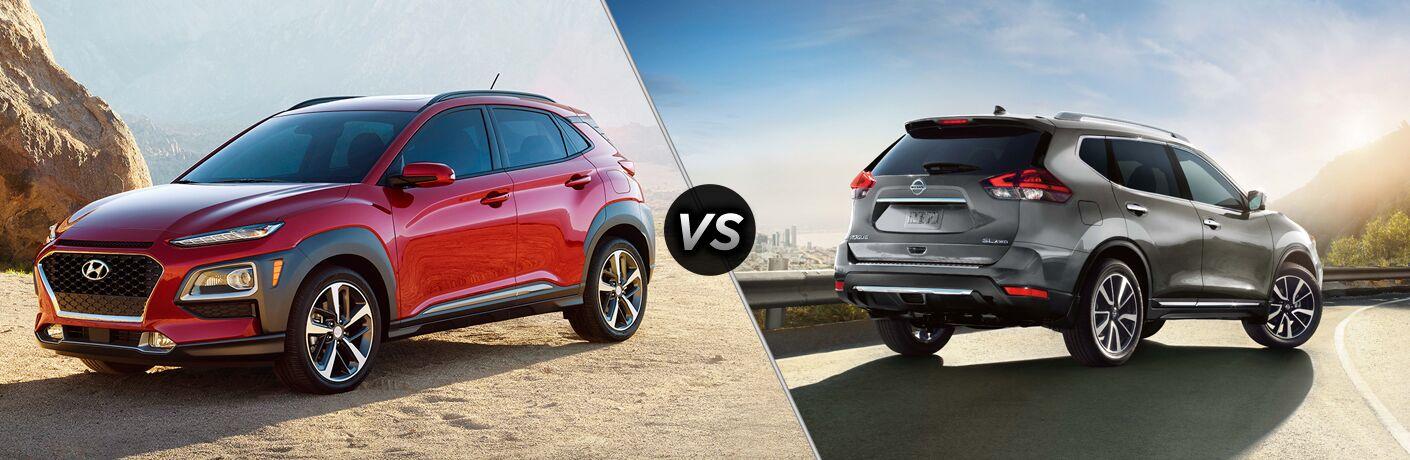 2018 Hyundai Kona vs 2018 Nissan Rogue