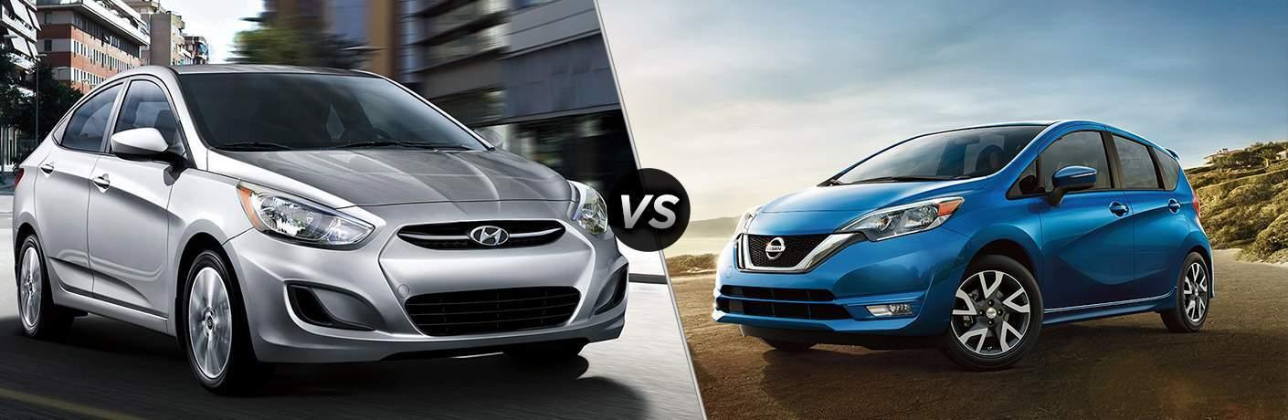 2018 Hyundai Accent vs 2018 Nissan Versa Note