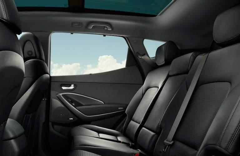 2018 Hyundai Santa Fe Sport rear seat space