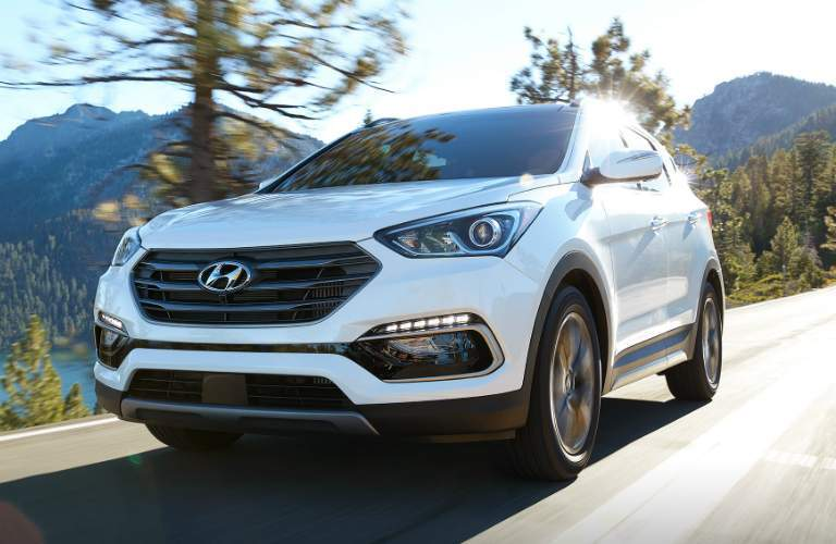 2018 Hyundai Santa Fe Sport grille design