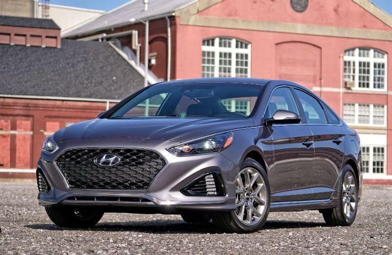 2019 Hyundai Sonata Exterior Driver Side Front Angle