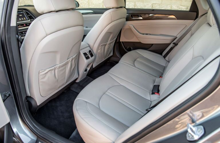 2019 Hyundai Sonata Interior Cabin Rear Seating