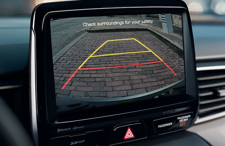 Rear View Camera in the 2020 Hyundai Veloster Turbo