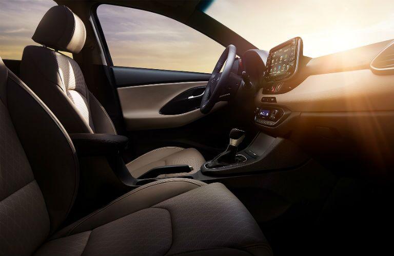 2019 Hyundai Elantra GT Interior Cabin Front Seating