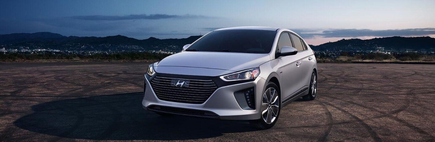 Silver 2019 Hyundai Ioniq Hybrid