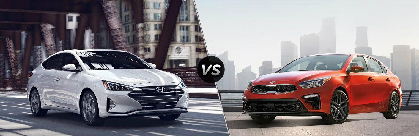 2019 Hyundai Elantra vs 2019 Kia Forte