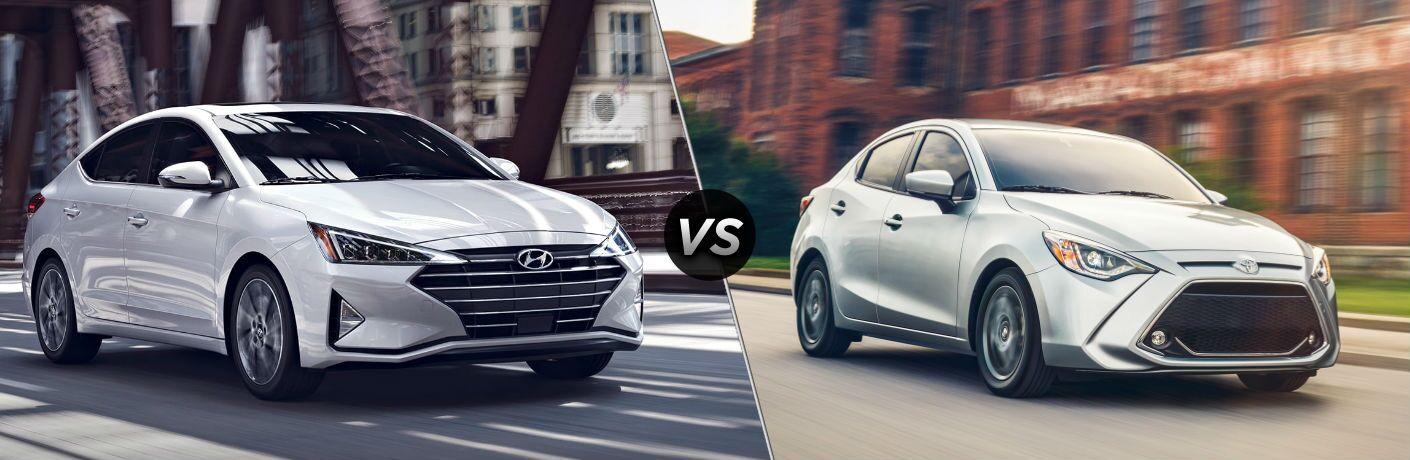 2019 Hyundai Elantra vs 2019 Toyota Yaris