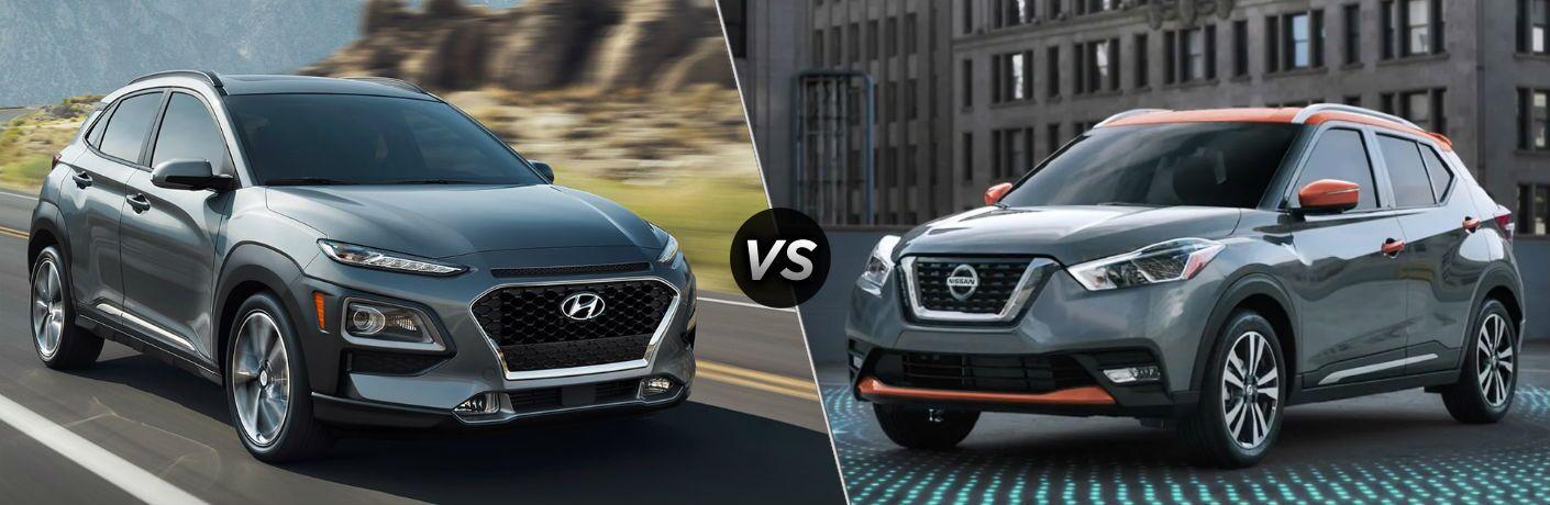 2019 Hyundai Kona vs 2019 Nissan Kicks