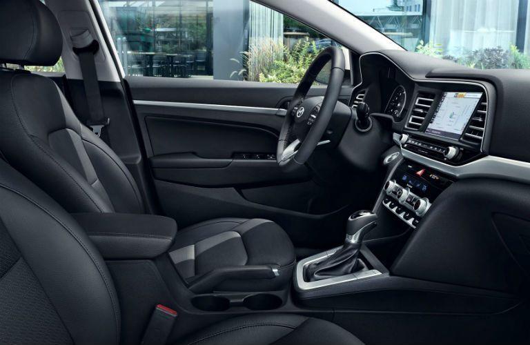 2020 Hyundai Elantra Interior Cabin Front Seating & Dashboard