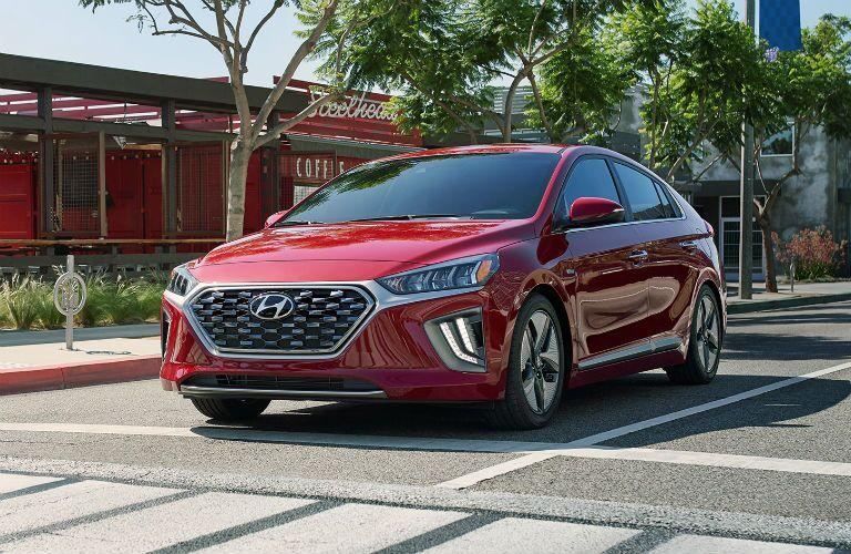 2020 Hyundai Ioniq Hybrid Exterior Driver Side Front Profile