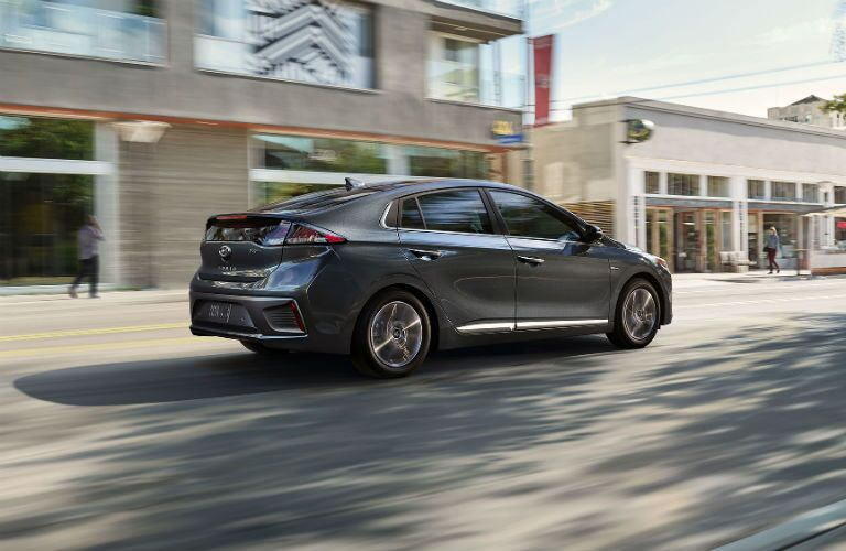 2020 Hyundai Ioniq Hybrid Exterior Passenger Side Rear Profile