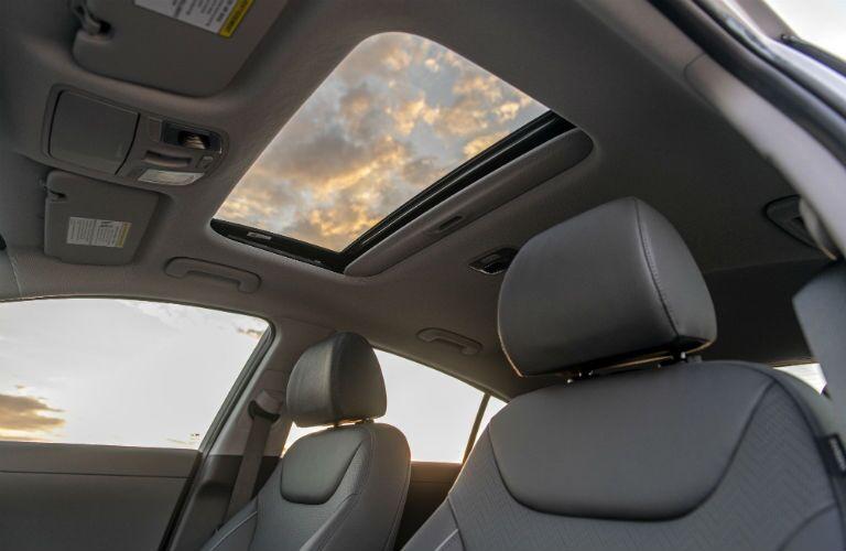 2020 Hyundai Ioniq Hybrid Interior Cabin Ceiling & Moonroof