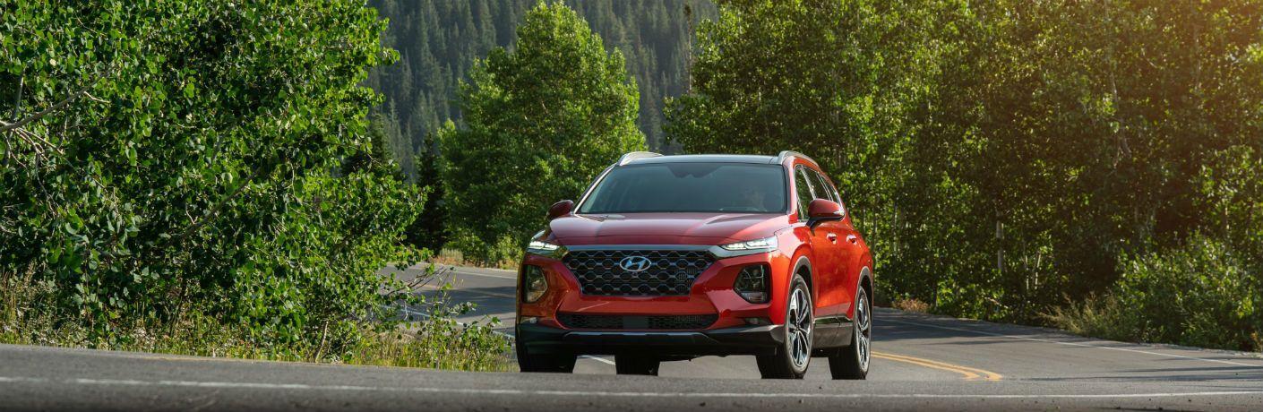 2020 Hyundai Santa Fe Exterior Driver Side Front Angle