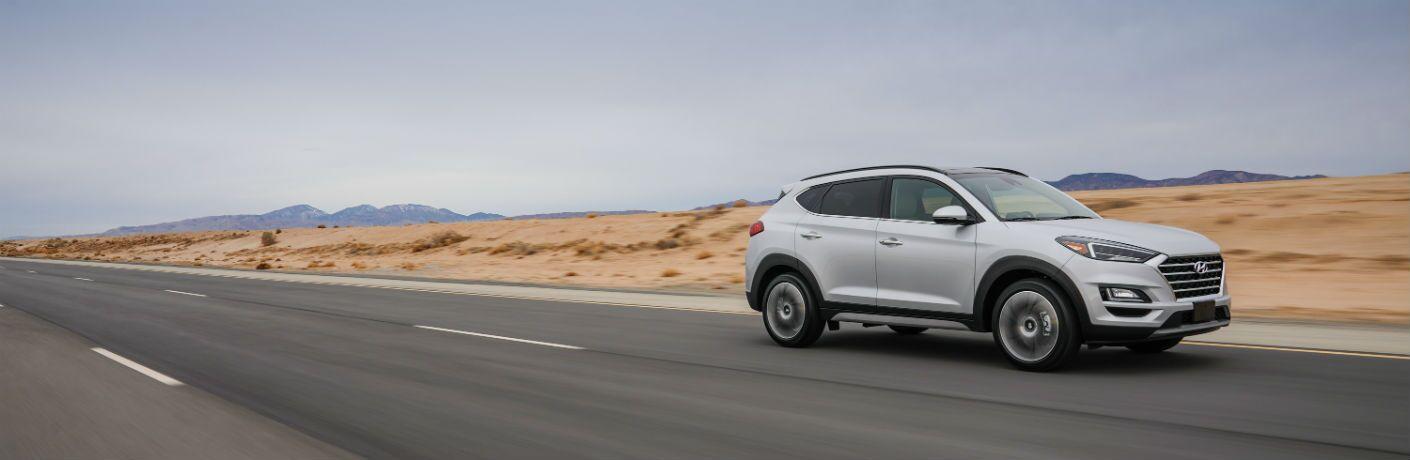 2020 Hyundai Tucson Exterior Passenger Side Front Profile