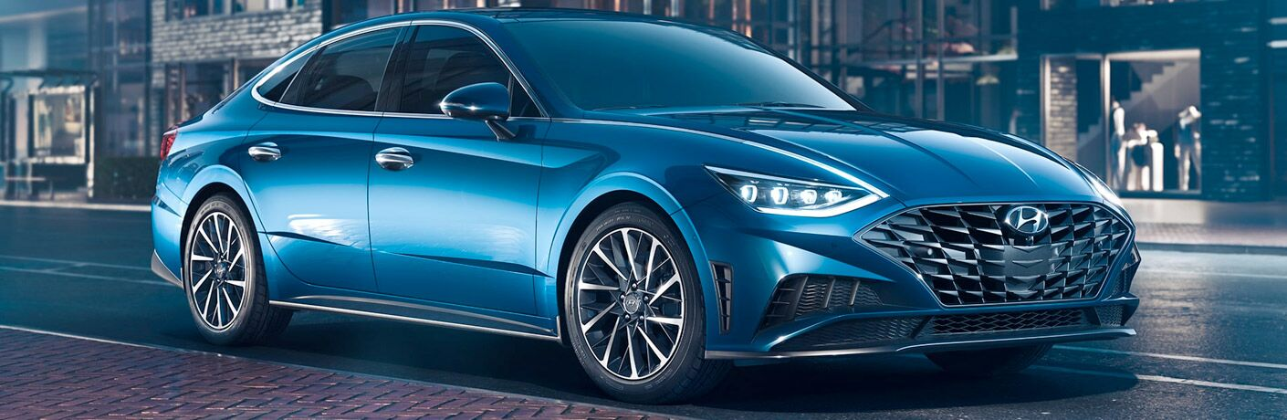 2020 Hyundai Sonata Exterior Passenger Side Front Profile