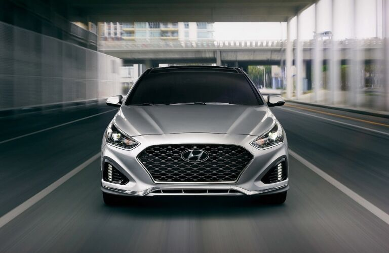 Front view of 2019 Hyundai Sonata
