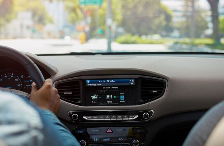 2019 Hyundai Ioniq Hybrid Dashboard