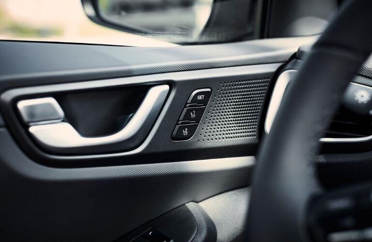 Interior side of door in 2019 Hyundai Ioniq Hybrid