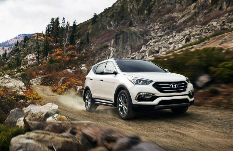 climbing a mountain in a santa fe sport