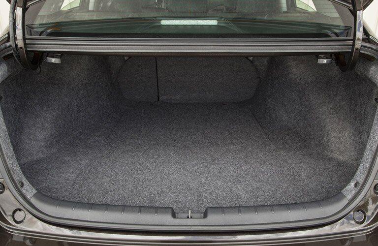 2017 Honda Accord open trunk.