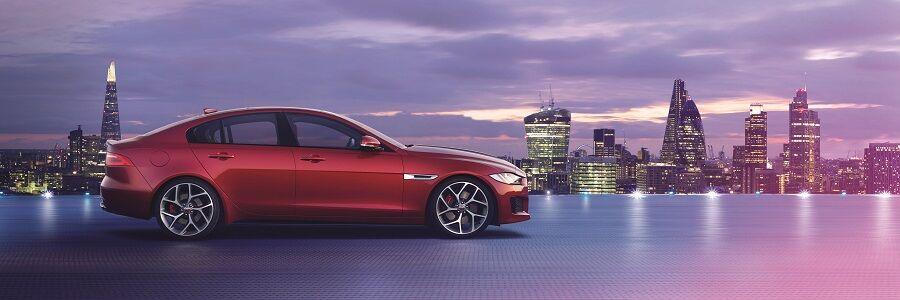 2018 Jaguar XE in Firenze Red