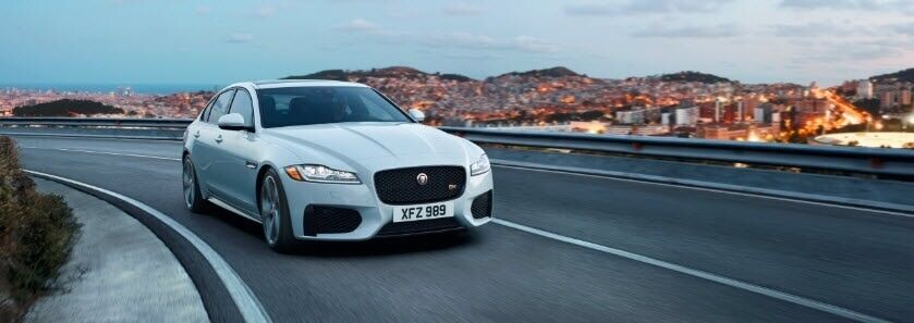 2018 Jaguar XF in Fuji White
