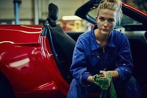 Jaguar Female Service Technician