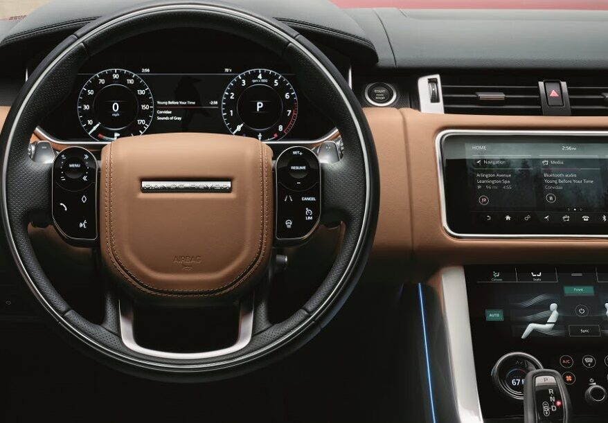 2018 Range Rover Sport Interior Technology