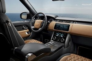 2018 Range Rover Large Interior Area