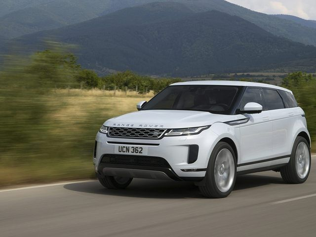 2020 Range Rover Evoque MPG