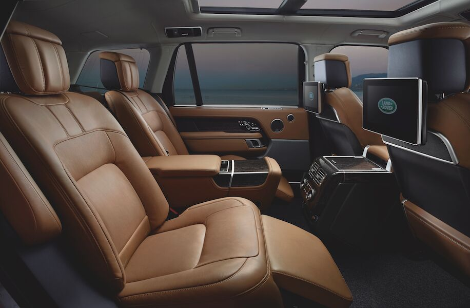 Range Rover Interior Technology