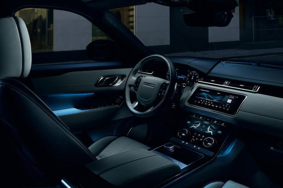 Land Rover Range Rover Velar Interior Technology