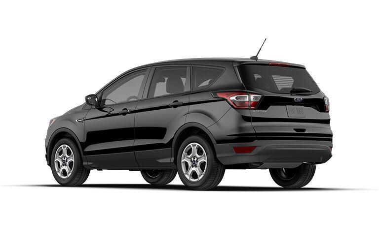 side profile of black 2018 Ford Escape