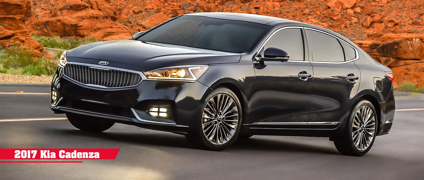 2017 Kia Cadenza features Frank Boucher Kia