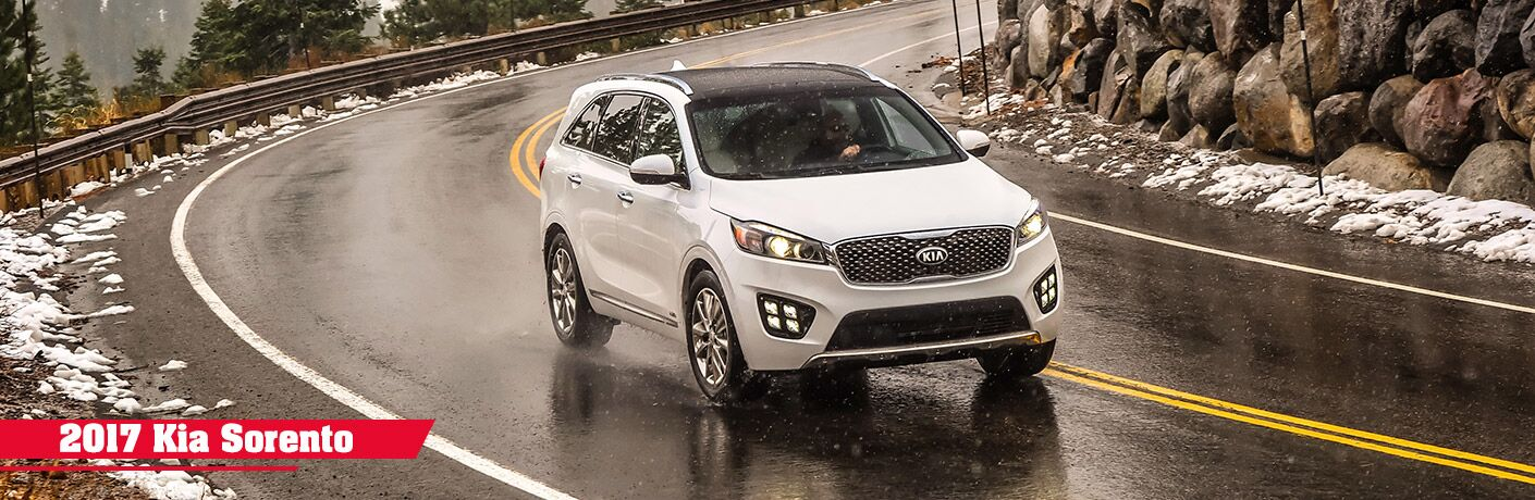 new features 2017 Kia Sorento