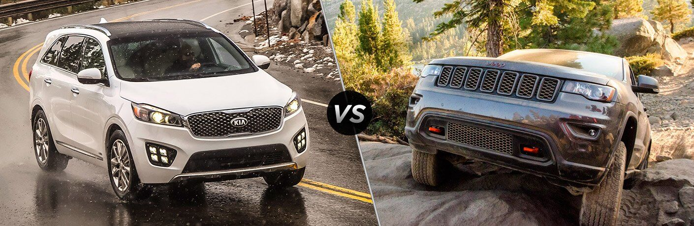 2017 Kia Sorento vs. 2017 Jeep Grand Cherokee