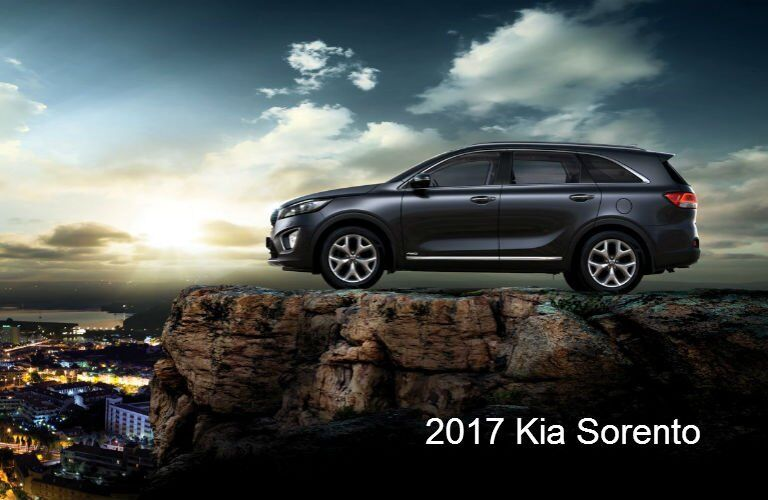 2017 Kia Sorento SUV IIHS Top Safety Pick