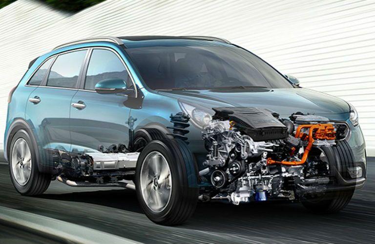 2017 Kia Niro electric and gas hybrid powertrain Milwaukee WI