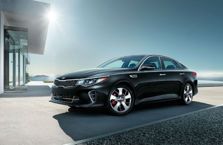 2017 Kia Optima SX and SX Limited