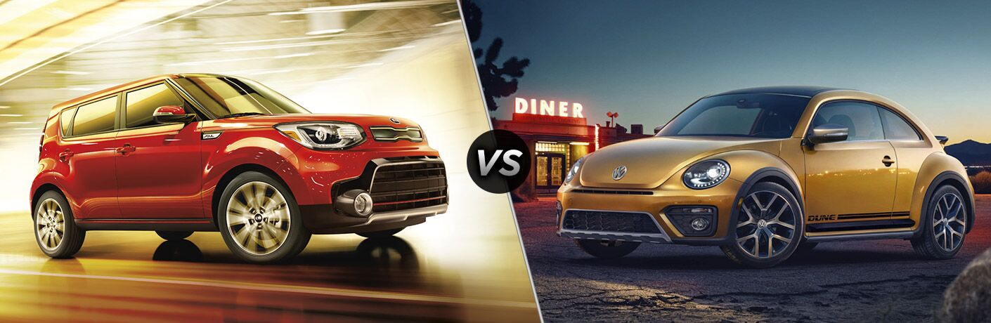 2017 Kia Soul vs. 2017 Volkswagen Beetle Boucher Kia Milwaukee WI