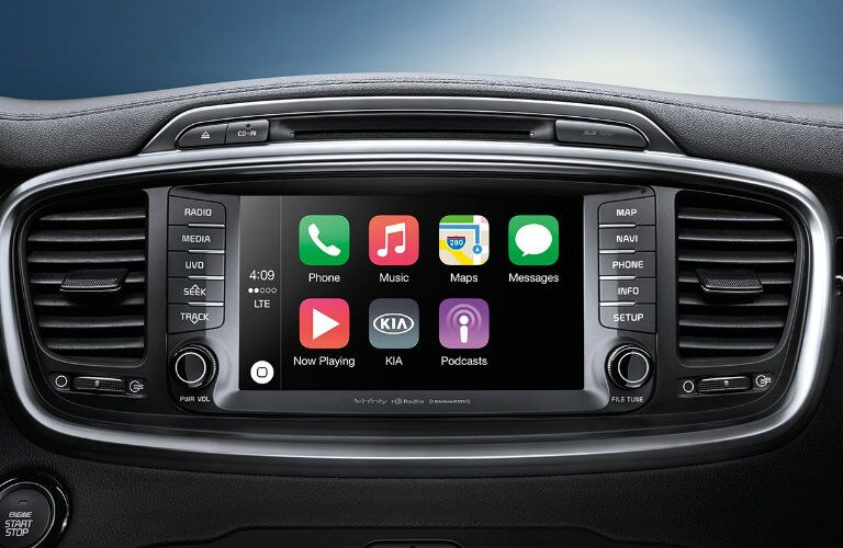2017 Sorento Apple CarPlay Frank Boucher