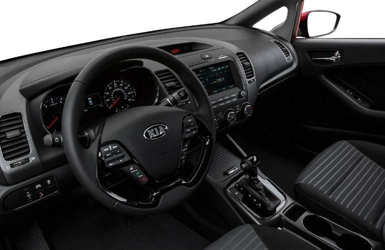 2018 Kia Forte front seats