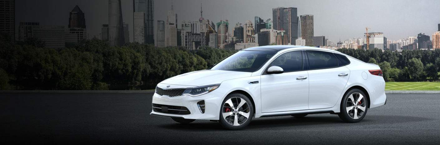 2018 Kia Optima sedan LX vs. S vs. EX vs. SX trims