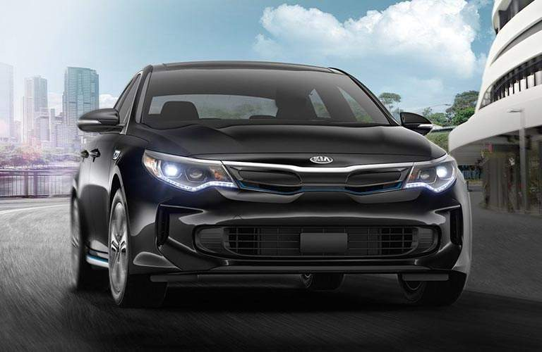 2018 Kia Optima Plug-In Hybrid exterior front black