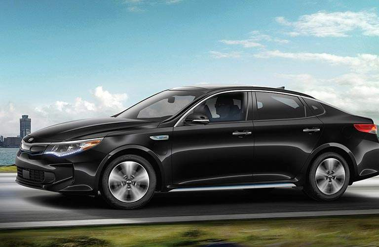 2018 Kia Optima Plug-In Hybrid exterior side black