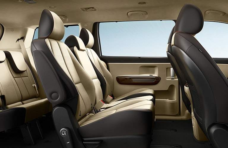 2018 Kia Sedona three rows for passengers
