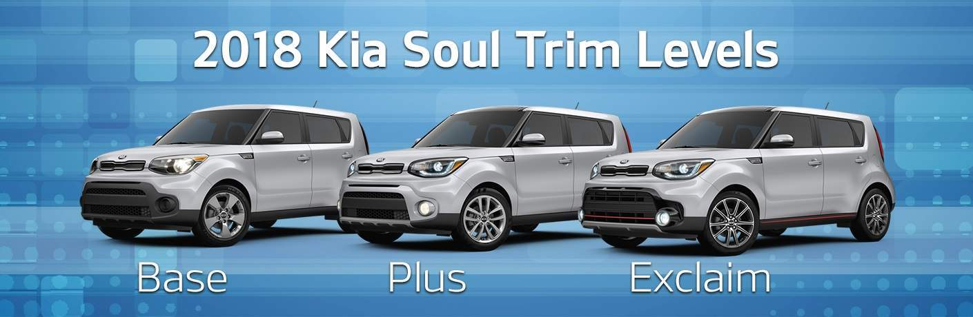 2018 kia soul trim options base vs plus vs exclaim rh boucherkia com kia soul trims 2017 kia soul trims 2018