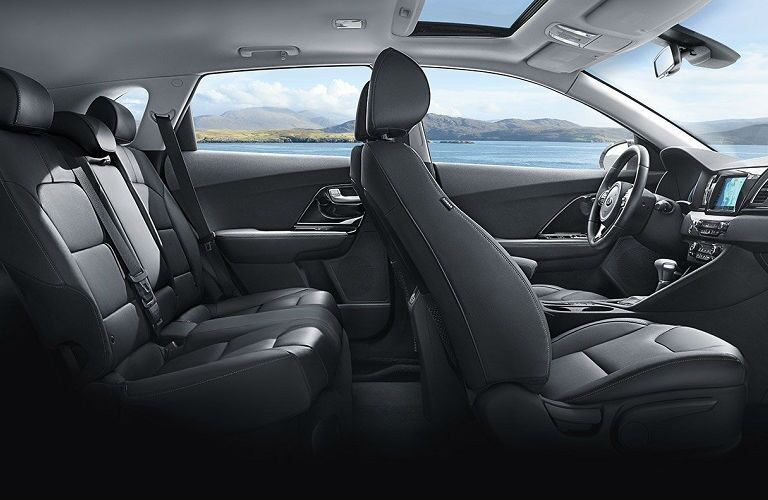 cutaway view of seating in 2019 kia niro